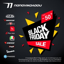 Black Friday Sales by Piaggio Papanicolaou!