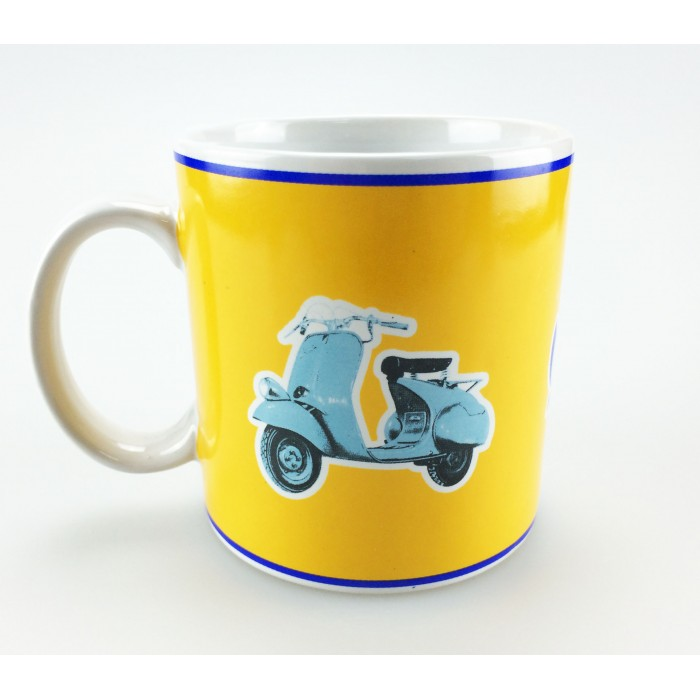 Vespa Κούπα Καφέ Κίτρινη