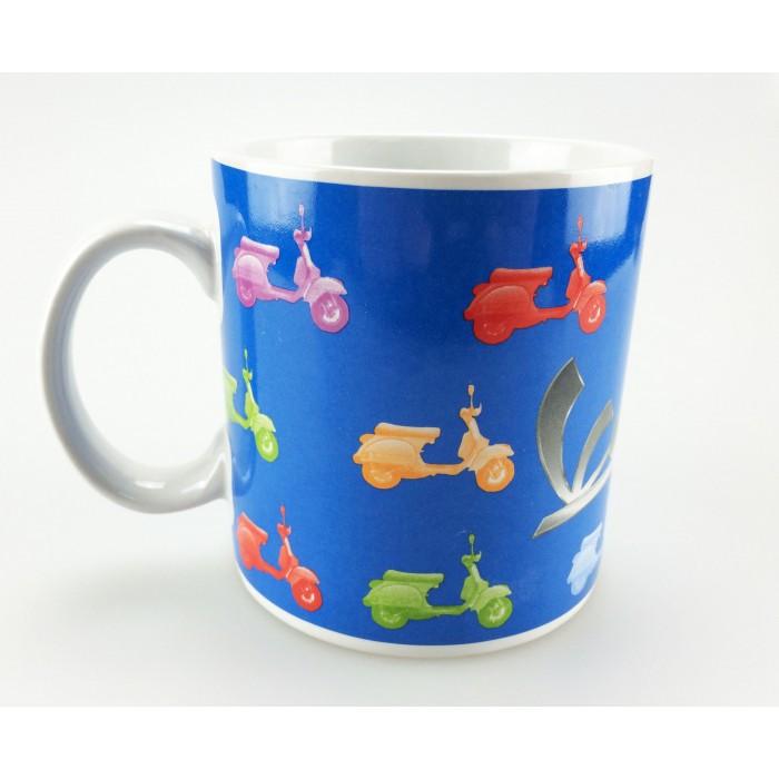 Vespa Κούπα Καφέ Μπλε PX