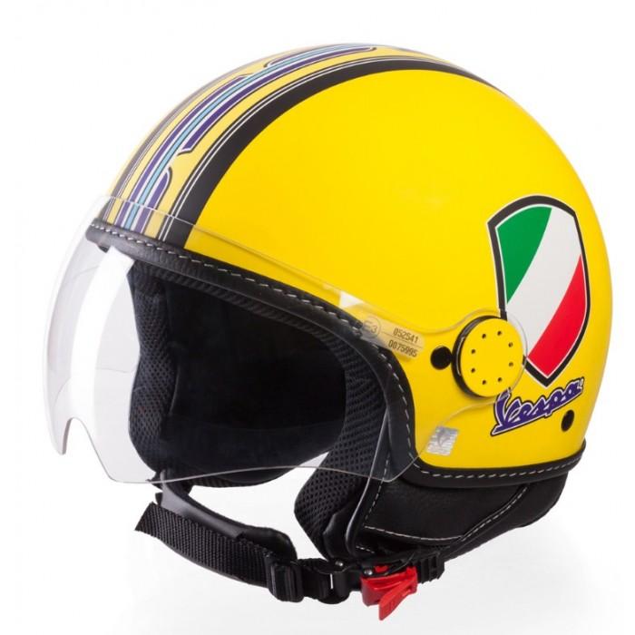 Vespa Κράνος V-Stripes Κίτρινο  ΚΡΑΝΗ