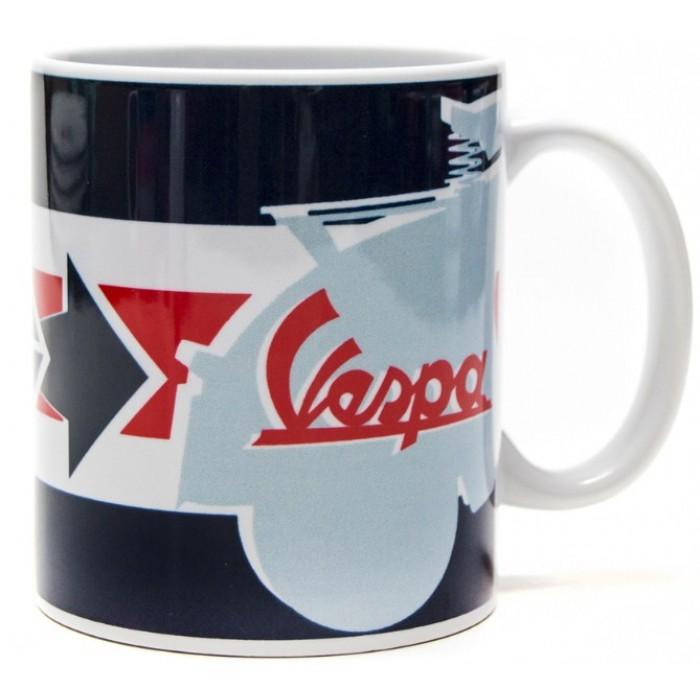 """Vespa Κούπα Καφέ """"Servizio"""" με Βέλος και Όχημα Κούπες"""