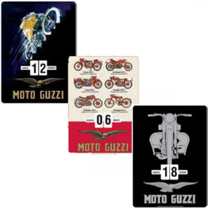 Ημερολόγιο Τοίχου Guzzi Κόκκινο Motos